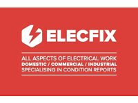 ELECFIX! ALL ELECTRICAL JOBS UNDERTAKEN AT THE BEST PRICES. INSURED, QUALIFIED, POLITE AND HONEST !!
