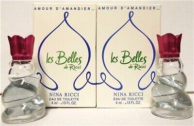 Nina Ricci Les Belles De Ricci Amour D'Amandier Almond Amour .17 oz Mini 2 (Nina Ricci Les Belles)