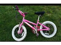 Girls bike suit age 4 to 6
