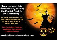 Treat Yourself this Halloween by Passing the English Test for UK Citizenship