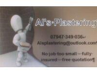 Al's Plastering