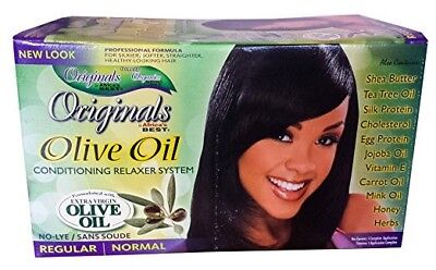 Africa's Best Originals Olive Oil Conditioning Relaxer System for Women,