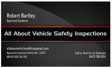 Mobile Vehicle Safety Inspections (RWC)