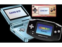 **Wanted** Gameboy Advance & Gameboy Advance SP Consoles any condition.