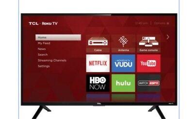 "TCL 32"" Inch HD 720P Smart LED LCD HDTV 60hz TV w/ USB & HDMI 32S301 FAST SHIP!"