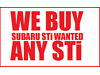 Subaru Impreza 2.0 WRX STI ARE YOU THINKING OF SELLING YOUR CAR High Wycombe