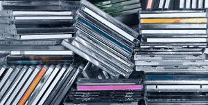 Plein de CDs à vendre!