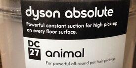 DYSON DC27 Animal Vacuum Cleaner