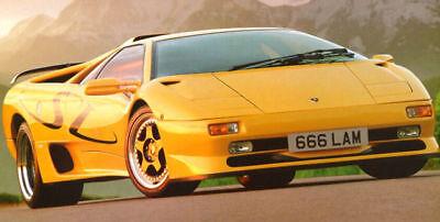 Lamborghini Diablo SV Logo Decal Strip Kit BRAND NEW!!!