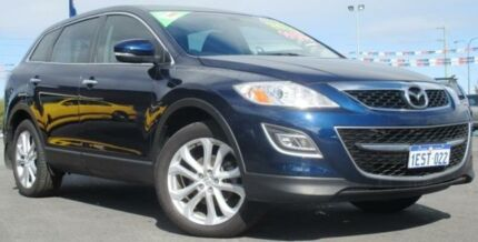 2010 Mazda CX-9 10 Upgrade Luxury Blue 6 Speed Auto Activematic Wagon Hillman Rockingham Area Preview