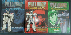 Patlabor - Various Collections and Movie - Anime on DVD - new
