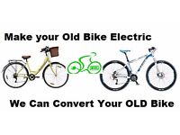 Convert your Old Bike Cycle to Electric Power Assisted