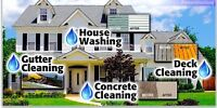 Exterior Home Cleaning Painting and Staining