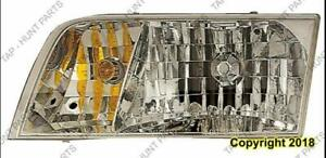 Head Light Passenger Side High Quality Ford Crown Victoria 1998-2005