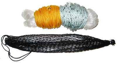 Emergency Fishing Gill Net Monofilament + Weighted Line