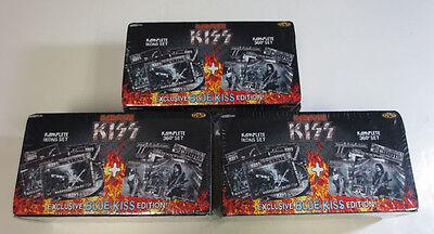 (3) Kiss 2009 Press Pass Complete Komplete Factory Set (180 Card) Icons 360° Set