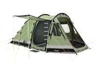 Outwell Trout Lake 4 + Footprint + Carpet