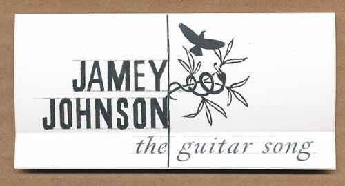 Jamey Johnson The Guitar Song RARE promo sticker 2010