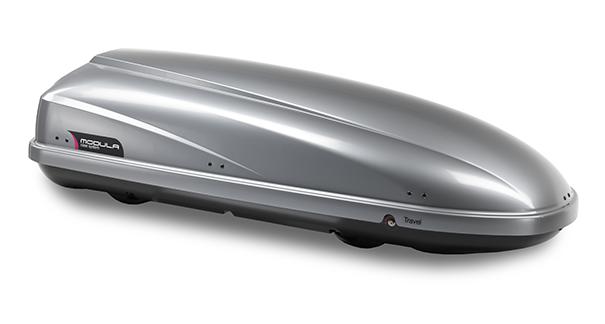 MODULA Dachbox TRAVEL TWIN 460 Liter grau metallic 1,97m (MOCS0002) ideal SKI
