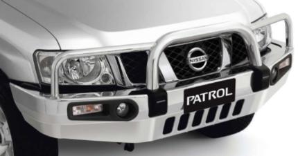 Y61 Wagon & TY61 C/Chassis GU Patrol Alloy Bull Bar