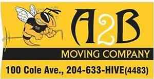 MOVING, STORAGE? CALL ON US...A2B MOVING, BEE HIVE STORAGE
