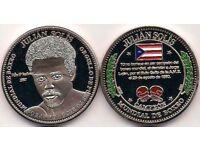 495yrs SAN JUAN PUERTO RICO 1521 2016 medalla escudo Limit Edition US OldestCity