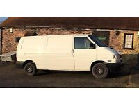 VW Volkswagen Transporter T4 Van White LWB Tailgate 2002 88BHP PRICE ONO - Lots of body work done