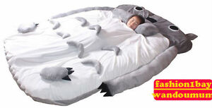 Big Huge Cute 2012 Models 230CM Totoro Bed Sleeping Bag Sofa  Gift