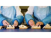 Food Production / Catering Staff - 1x Full Time & 1 x Part Time
