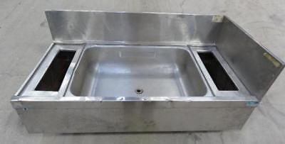 Supreme Metal Stainless Steel Sink W Backsplash Single Bowl