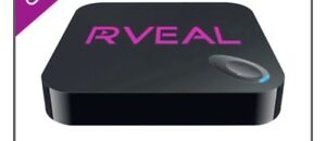 Rveal android box and upgraded remote