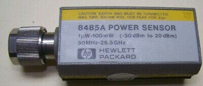 Hp 8485a Power Sensor 50mhz-26.5ghz 1uw-100mw Fully Tested And Ready For Work