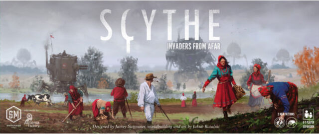 Scythe Invaders from Afar Expansion english version