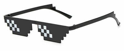 New Thug Life Attitude Sunglasses 8 Bit Pixel Deal With It Unisex Glass (Attitude Sunglasses)