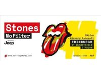 Rolling Stones Concert Edinburgh 9 June - 2 tickets for brilliant seats! £150 each