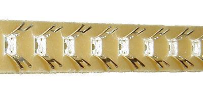 Lötösenleiste / Lötleiste 25cm einreihig