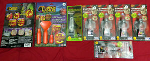 8 New Sealed Halloween Costume Accessories Carving Kits Vampire