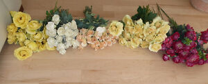 Beautiful fake flowers $ 10 - $ 15 per color or all $ 50 Kitchener / Waterloo Kitchener Area image 2