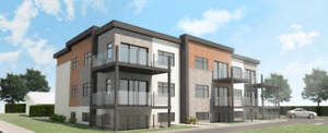 Grand 4 1/2 style condo logements loyers construction neuve