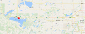 Two 10 acre lots of undeveloped land for sale - Wabamun Lake