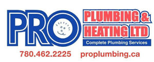 PRO PLUMBING 780-462-2225 OR TEXT 780-445-0986