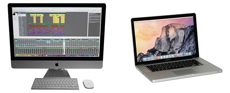Choosing Between an iMac and MacBook Pro
