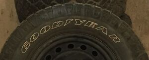 Goodyear Wrangler Snow/Mud Tires 265 70 r17 with Rims