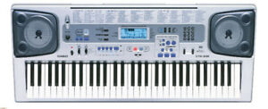 61-key Casio Keyboard, great sound, many features!!!