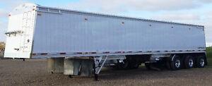 Hopper a grain 45'  3 essieux  Lodeking