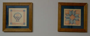 """2 Small Framed Prints from - """"LIBBIE"""""""