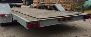 6' x 16' Flatbed Trailer Kitchener / Waterloo Kitchener Area image 2