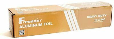 Heavy Duty Aluminum Foil Wrap Commercial Grade Freedom 18 X 500 Foot 1 Pack
