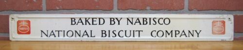 Old BAKED BY NABISCO NATIONAL BISCUIT COMPANY Sign SCIOTO Co KENTON OHIO DETROIT