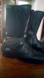 motorcycle boots rossi Gianni falco  leather men woman high short Blacktown Blacktown Area Preview